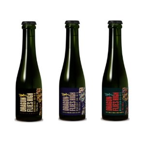 Kit Cerveja Dádiva Dragon Flies High (Breakfast + Pastry + Mexican) Barrel Aged Russian Imperial Stout 3 garrafas - 375ml