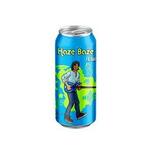 Cerveja BrewLab Haze Baze Framboesa (Arthur Maia) New England APA C/ Framboesa Lata - 473ml