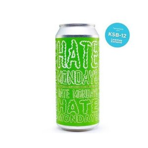 Cerveja Koala San Brew Hate Mondays KSB-12 Double New England IPA Lata - 473ml