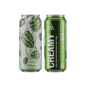 Cerveja Dogma Creamy American IPA C/ Lactose Lata - 473ml