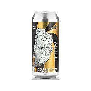 Cerveja Avós Vó Francisca Dark Lager Lata - 473ml