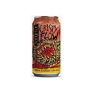 Cerveja Oceânica Crispy Flow Altbier Lata - 350ml