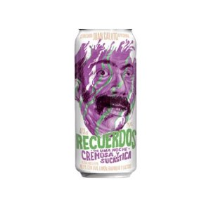 Cerveja Juan Caloto Recuerdos de Una Noche Cremosa Y Sucástica Milkshake IPA C/ Uva, Limão, Baunilha e Lactose Lata - 473ml