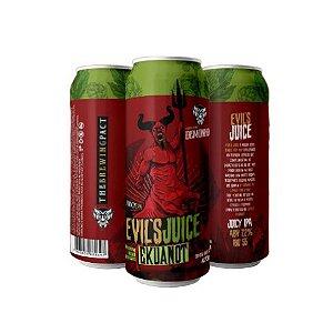 Cerveja Demonho Evil's Juice Ekuanot Juicy IPA Lata - 473ml