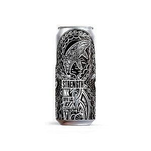 Cerveja Dádiva Strenght Ink Double New Zealand IPA Lata - 473ml