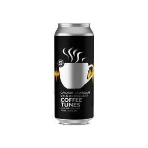 Cerveja Croma + Caravan + Kento Roastery Coffee Tunes Sour Ale C/ Café Lata - 473ml