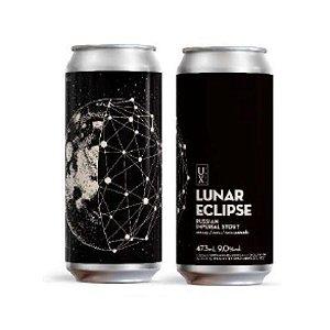 Cerveja UX Brew Lunar Eclipse Russian Imperial Stout C/ Caju, Cacau e Coco Queimado Lata - 473ml