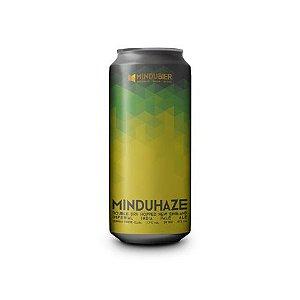 Cerveja MinduBier MinduHaze Double New England IPA Lata - 473ml