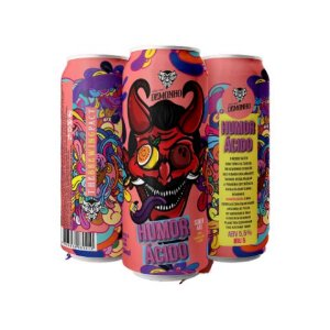 Cerveja Demonho Humor Ácido Sour Ale C/ Maracujá e Coco Lata - 473ml