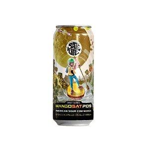 Cerveja Satélite MangoSat P.09 American Sour Ale C/ Manga Lata - 473ml