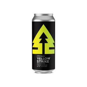 Cerveja Croma Yellow Strike Sour Ale C/ Manga e Pêssego Lata - 473ml