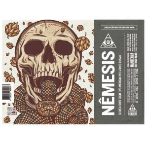 Cerveja Dogma Nêmesis American IPA Lata - 473ml