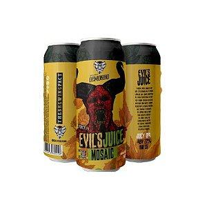 Cerveja Demonho Evil's Juice Mosaic Juicy IPA Lata - 473ml