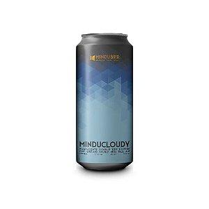 Cerveja MinduBier MinduCloudy Double New England IPA Lata - 473ml