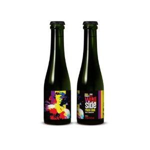 Cerveja Dádiva + Three Monkeys Wild Side Peach Sour Mixed Fermentation - 375ml