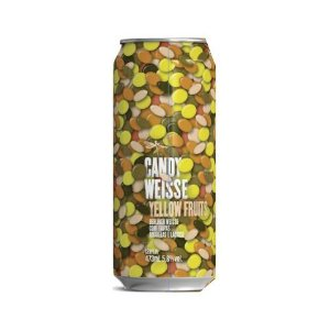 Cerveja Dádiva Candy Weisse Yellow Fruits Berliner Weisse C/ Frutas Amarelas e Lactose Lata - 473ml