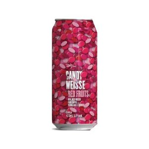 Cerveja Dádiva Candy Weisse Red Fruits Berliner Weisse C/ Frutas Vermelhas e Lactose Lata - 473ml
