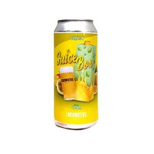 Cerveja Locomotive Brew Juice Box New England IPA Lata - 473ml