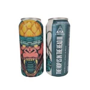 Cerveja Dogma The Hop Is In The Head III Double New England IPA Lata - 473ml