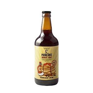 Cerveja 5 Elementos C² Pancake Brunch Stout Imperial Stout C/ Lactose, Maple, Café e Coco - 500ml