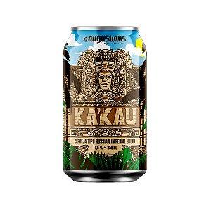 Cerveja Augustinus Ka'Kau 2020 Russian Imperial Stout C/ Cacau e Baunilha Lata - 350ml