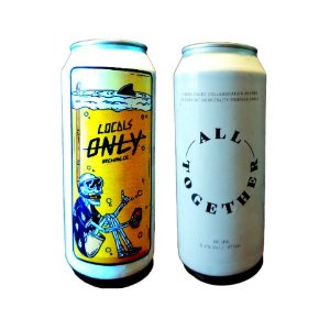 Cerveja Locals Only Brewing All Together New England IPA Lata - 473ml