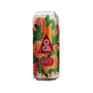 Cerveja Oca Aratá Milkshake IPA C/ Tangerina, Baunilha e Lactose Lata - 473ml