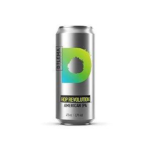 Cerveja Dilema Hop Revolution American IPA Lata - 473ml