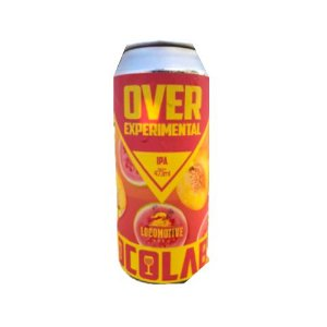 Cerveja Locomotive Brew OverExperimental New England IPA Lata - 473ml