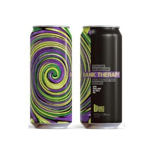 Cerveja Bold Brewing Dank Therapy Double New England IPA Lata - 473ml