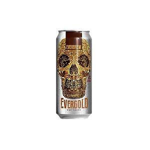 Cerveja EverBrew EverGold Hop Lager Lata - 473ml