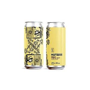 Cerveja UX Brew Nuts!!!! Russian Imperial Stout C/ Macadâmia e Baunilha Lata - 473ml