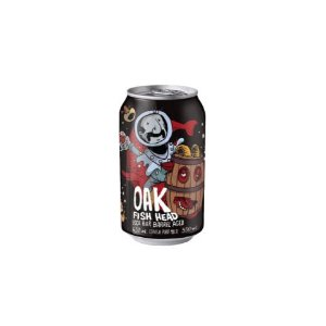 Cerveja Juan Caloto + Narcose Oak Fish Head Bock Bier Barrel Aged Lata - 350ml