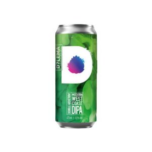 Cerveja Dilema Double Addiiction Modern West Coast Double IPA Lata - 473ml