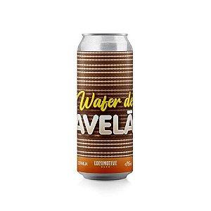 Cerveja Locomotive Brew Wafer de Avelã Imperial Porter C/ Avelã, Cacau e Baunilha Lata - 473ml