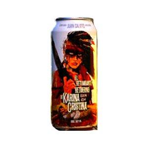 Cerveja Juan Caloto El Retumbante Retuerno de Karina Cristina Double Juicy IPA Lata - 473ml