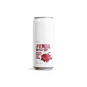 Cerveja Dádiva Ephemeral Goiaba + Maracujá Imperial Sour C/ Goiaba, Maracujá, Coco e Baunilha Lata - 473ml