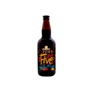 Cerveja Oceânica Year Five Imperial Coffee Stout - 500ml