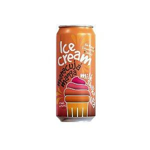 Cerveja Dádiva + Totenhopfen + Ale-Mania Ice Cream Milkshake IPA C/ Maracujá, Manga, Baunilha e Lactose Lata - 473ml