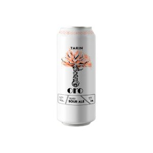 Cerveja Tarin Oro Fruited Sour Ale C/ Framboesa e Pêssego Lata - 473ml