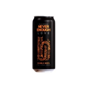 Cerveja Bold Brewing Never Enough Love Double New England IPA Lata - 473ml