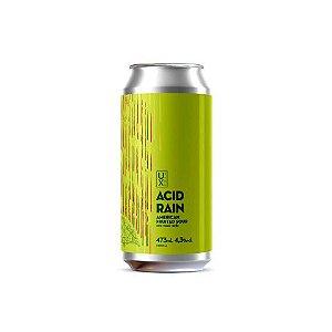 Cerveja Ux Brew Acid Rain Maçã Verde Fruited Sour Ale Lata - 473ml