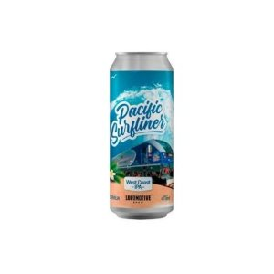 Cerveja Locomotive Brew Pacific Surfliner West Coast IPA Lata - 473ml