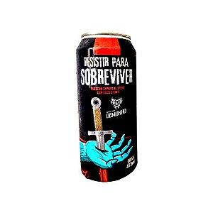 Cerveja Demonho Resistir Para Sobreviver Russian Imperial Stout C/ Coco e Café Lata - 473ml