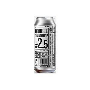Cerveja UX Brew Double Quarantine #2.5 Juicy Double IPA Lata - 473ml