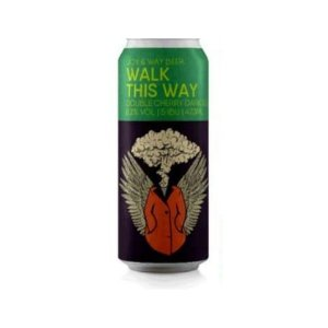 Cerveja Joy Project + Way Beer Walk This Way Double Cherry Dark Sour Lata - 473ml