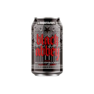 Cerveja Augustinus Black Abbey Belgian Imperial Stout Lata - 350ml