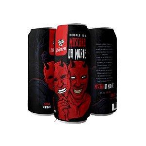 Cerveja Demonho Máscara da Morte Double IPA Lata - 473ml