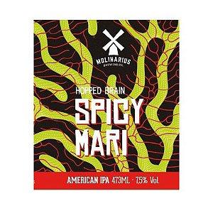 Cerveja Molinarius Spicy Mari American IPA Lata - 473ml