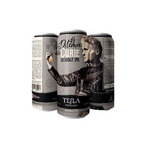 Cerveja Tesla O Dilema de Curie Double IPA Lata - 473ml